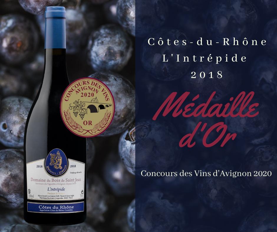 Concours des Vins d'Avignon 2020